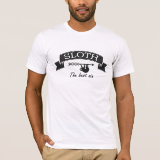 Sloth is the Best Sin Vintage style T-Shirt