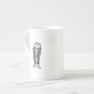 Sloth on Roller Skates Tea Cup