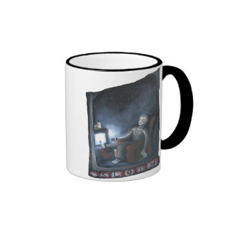 Sloth one of the seven deadly sins coffee mugs