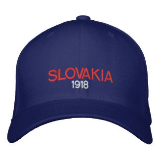 Slovakia 1918 Custom Baseball Cap