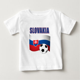 slovakia soccer football world cup 2010 baby T-Shirt