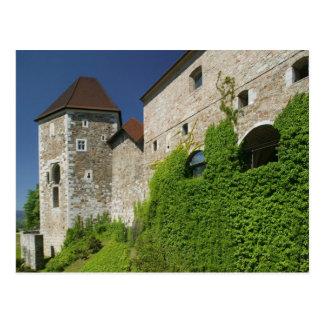 SLOVENIA, Ljubljana: Castle Hill / Ljubljana Postcard
