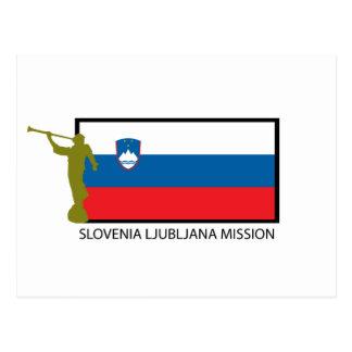 SLOVENIA LJUBLJANA MISSION LDS CTR POSTCARD