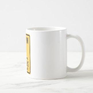 Slow Minds at Play - Funny Anti-Religion Design Basic White Mug