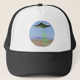SLV UFO Hat with UFO Beaming up Cow
