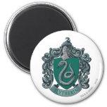 Slytherin Crest Green 6 Cm Round Magnet