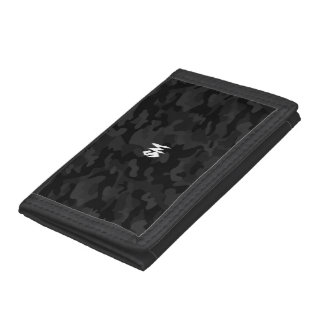 [SM] Black Camouflage Wallet
