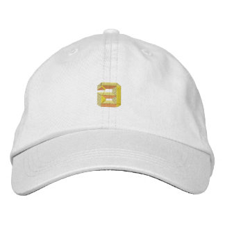 Small A Embroidered Hat