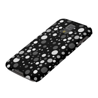 Small Black and White Polka Dots Galaxy S5 Case