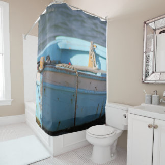 Small boat shower curtain