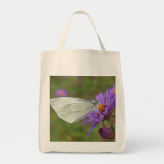 Small Cabbage White Butterfly Tote Bag