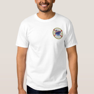 Small Cruise Ship Embroidered T-Shirt