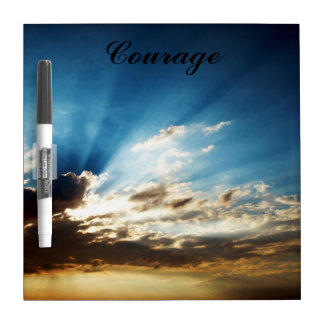 """Small Dry Erase Board """"Courage"""""""