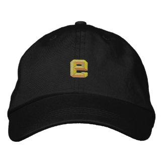 Small E Embroidered Baseball Cap
