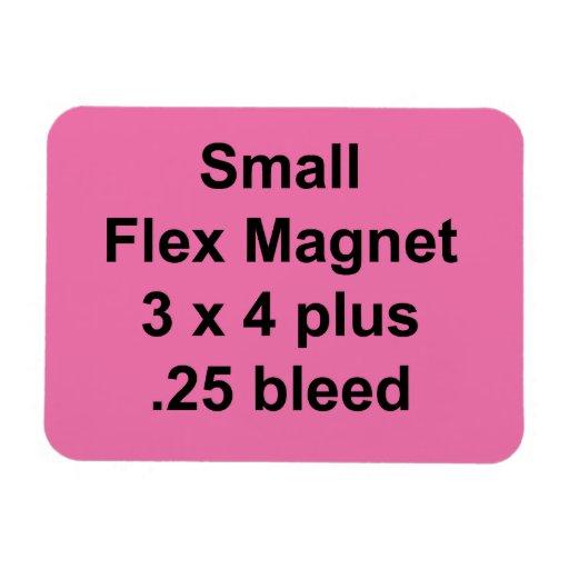 Small Flexible Magnet Template Horizontal Fill