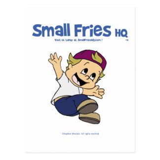 Small Fries HQ Albert Postcards
