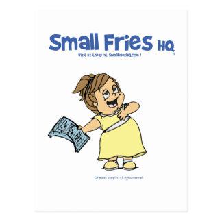 Small Fries HQ Angela Postcard