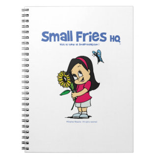 Small Fries HQ Becky Spiral Photo Notebook