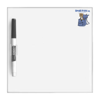 Small Fries HQ Dry Erase Board