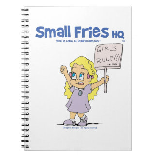 Small Fries HQ Ophelia Spiral Photo Notebook
