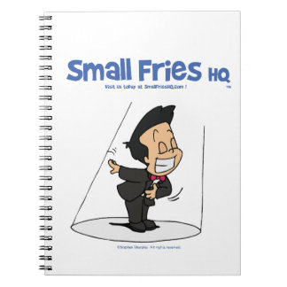 Small Fries HQ Oscar Photo Notebook