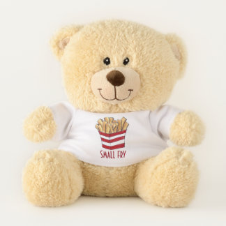 SMALL FRY French Fries New Baby Big Brother Sister Teddy Bear