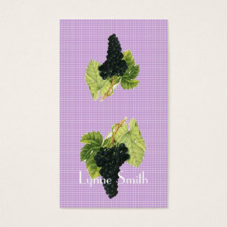 Small Grapes Bookmark - add your own magnet Business Card