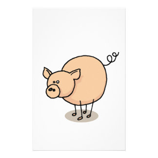 Small Gro-Gro pig Stationery