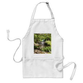 Small Park Waterfall Adult Apron