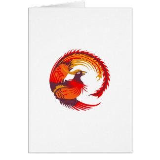 SMALL PHOENIX BIRD CARD