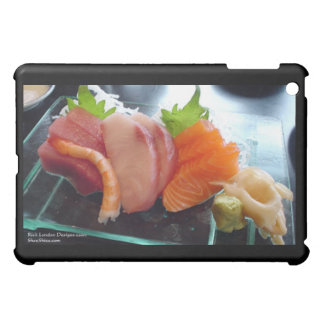 Small Plate Shrimp Tuna Sushi Gifts Cards Etc iPad Mini Cover