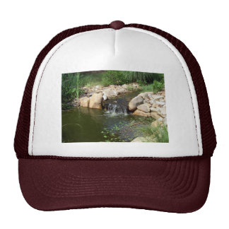 Small Pond and Waterfall Hat