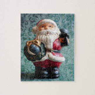 Small Santa Claus figure Jigsaw Puzzle