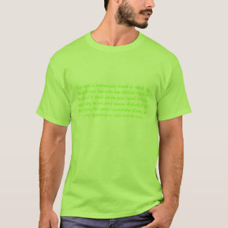 Small Text Shirt