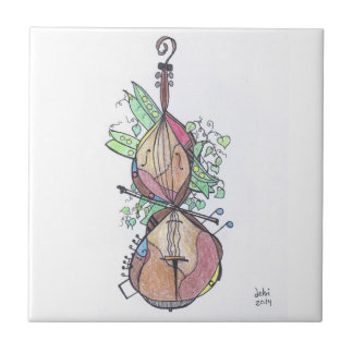 small tile:  cello