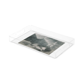 small vanity tray 'Une Femme Qui Passe'
