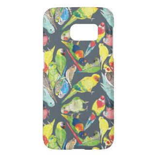 Small Watercolor Parrots