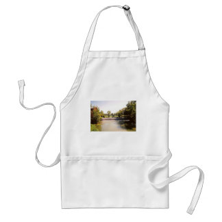 Small Waterfall Adult Apron