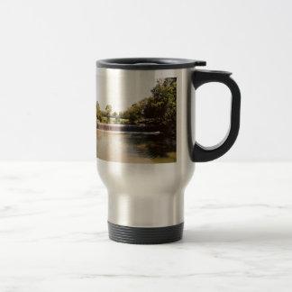 Small Waterfall Stainless Steel Travel Mug