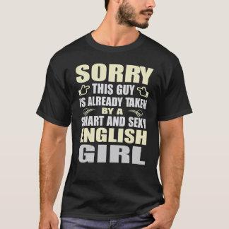 SMART AND SEXY ENGLISH GIRL T SHIRTS