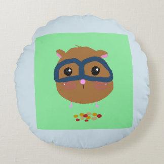 smart baby hamster round cushion
