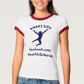 Smart Life Ladies Ringer T T-shirt