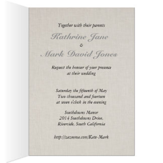 SmartElegance Coral Wedding Invitation