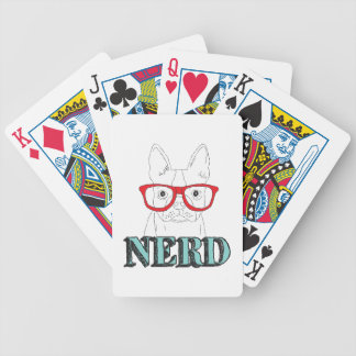 Smartest Boston Terrier Bicycle Playing Cards