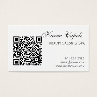 248 barcodes business cards and barcodes business card templates smartfone barcode salon appointment business card colourmoves