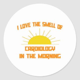 Smell of Cardiology in the Morning Round Sticker