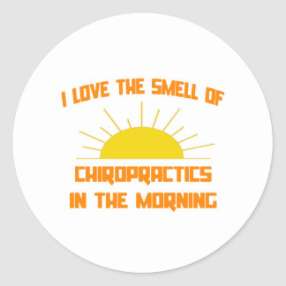 Smell of Chiropractics in the Morning Stickers