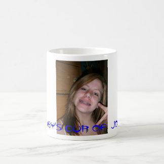smexy, Delaney's Cup Of  Joe!!!!! Basic White Mug