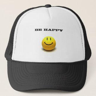 SMILE, Be Happy Trucker Hat