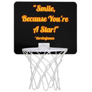 Smile, Because You're A Star!  Basketball Hoop